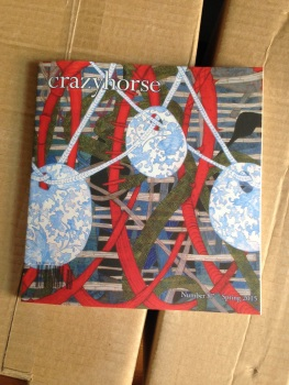 Crazyhorse literary journal, spring 2015 issue, photo by Jonathan Heinen