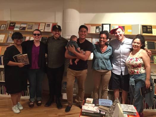 Hossannah Emilia Jose Ron Aracelis Jon and Joy at Berl's 06-16-2016
