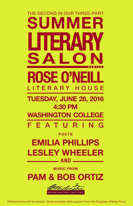 rose o'neill wheeler and phillips 6-28-2016 poster