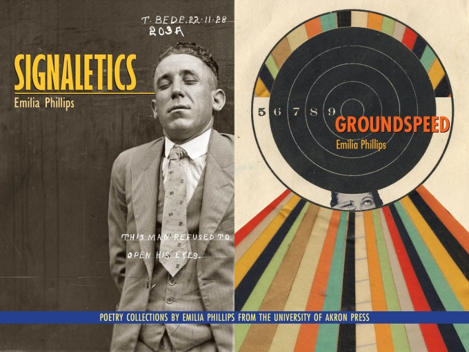 Signaletics and Groundspeed poetry collections akron ad