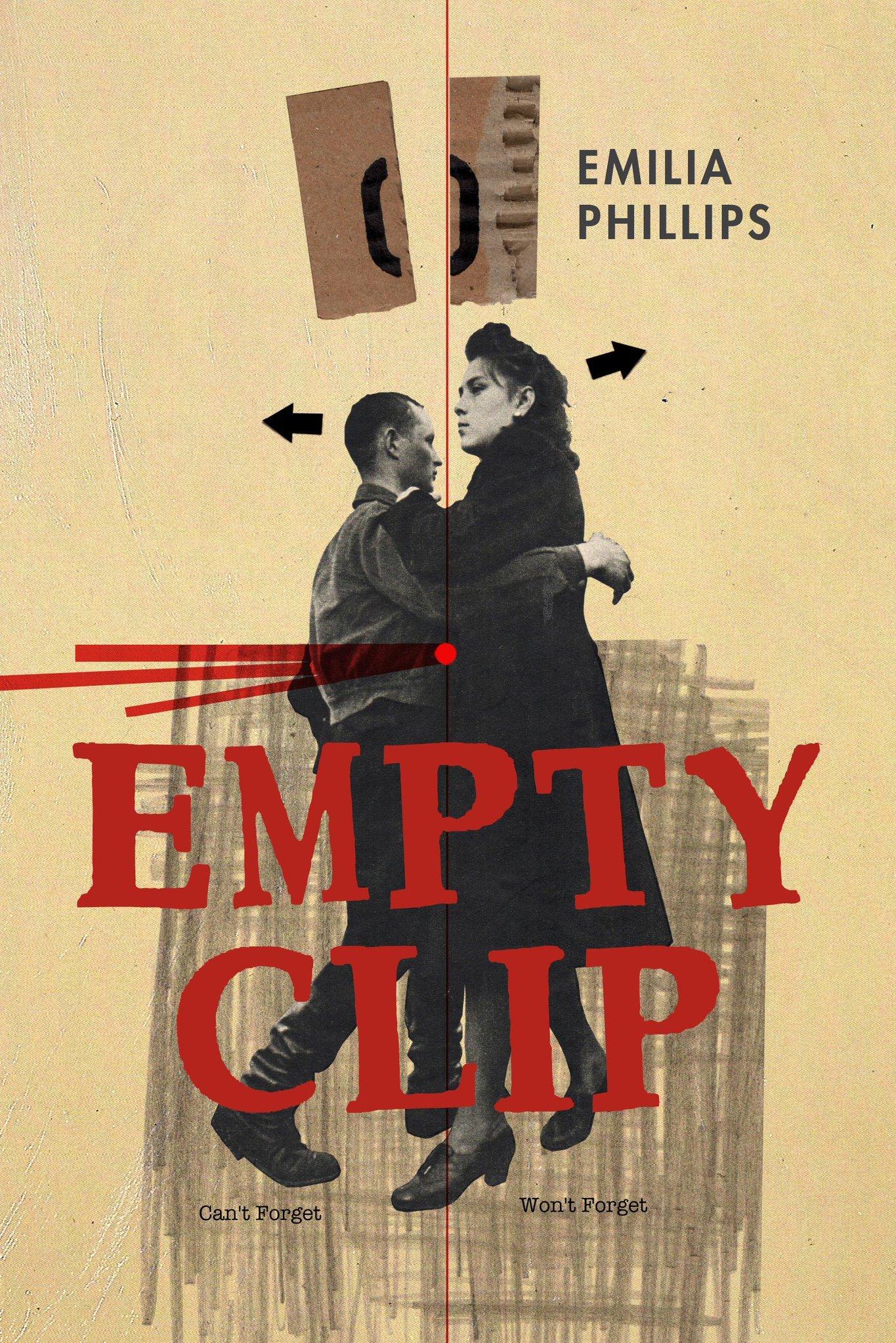 Empty Clip by Emilia Phillips cover art, University of Akron Press, 2018