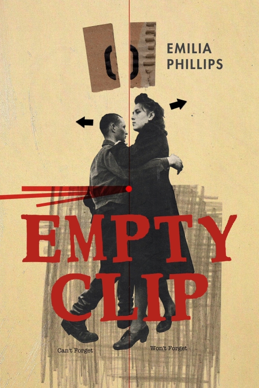 Empty Clip by Emilia Phillips cover art, University of Akron Press, 2018