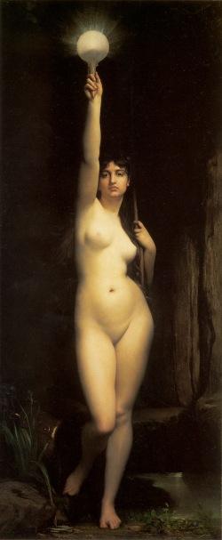 La Vérité by Jules Joseph Lefebvre (1870)