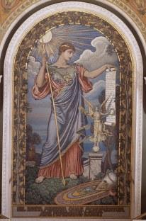 Minerva by Elihu Vedder (1897)