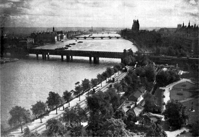 Victoria Embankment, London (circa 1930)