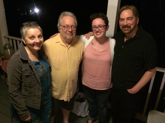 Kathleen Graber, David Wojahn, Emilia Phillips, and Greg Donovan, May 2015