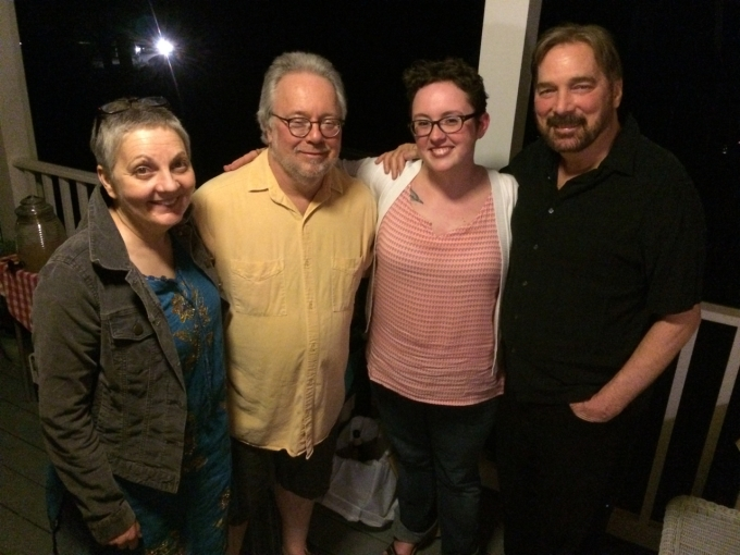 Kathleen Graber, David Wojahn, Emilia Phillips, and Greg Donovan, May 2015