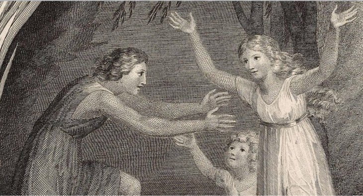 William_Blake_An_Elegy_Set_to_Music_by_Thomas_Commins_J_Fentum_publ_Jul_1_1786_detail